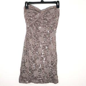 Morgan & Co sequin dress